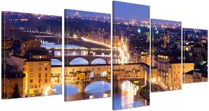 Bilderdepot24 Cuadros en Lienzo Florencia