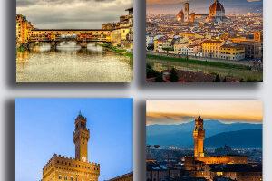 Printerland Cuadros Modernos Firenze Ciudad