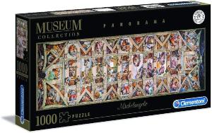 Puzzle Capilla Sixtina 1000 piezas Clementoni