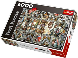 Puzzle Capilla Sixtina 6000 piezas Trefl