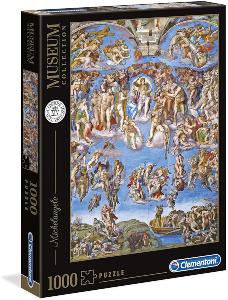Puzzle Capilla Sixtina Juicio Final 1000 piezas Clementoni