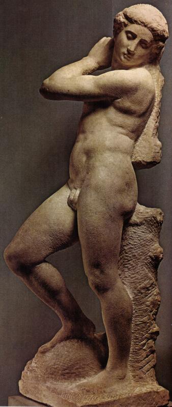 Apolo de Miguel Ángel en el Museo del Bargello de Florencia