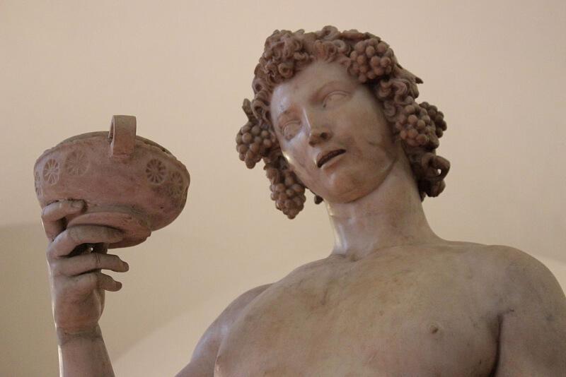 Baco Michelangelo Cabeza Museo Bargello