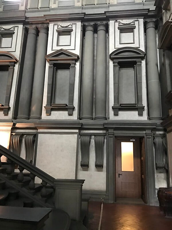 Biblioteca Laurenziana Miguel Ángel Arquitectura Florencia