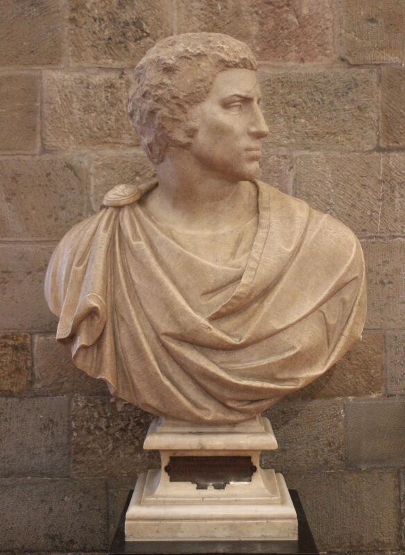 Busto de Bruto Miguel Ángel Museo Bargello
