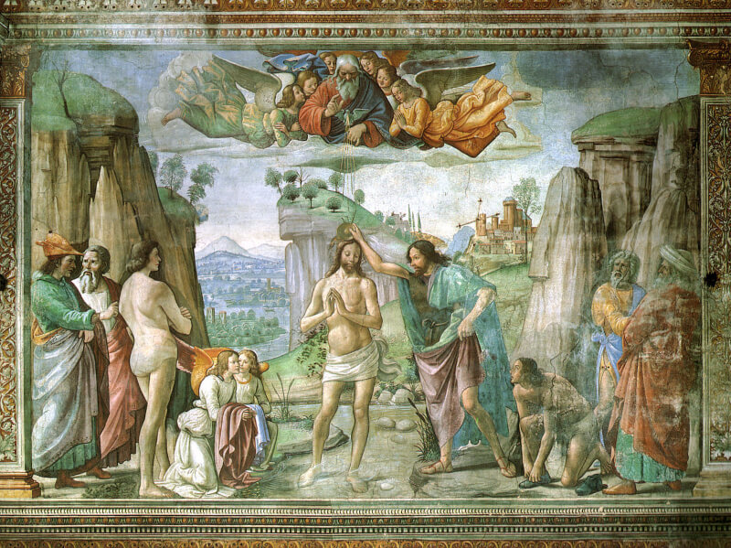 Capilla Tornabuoni Ghirlandaio Santa Maria Novella