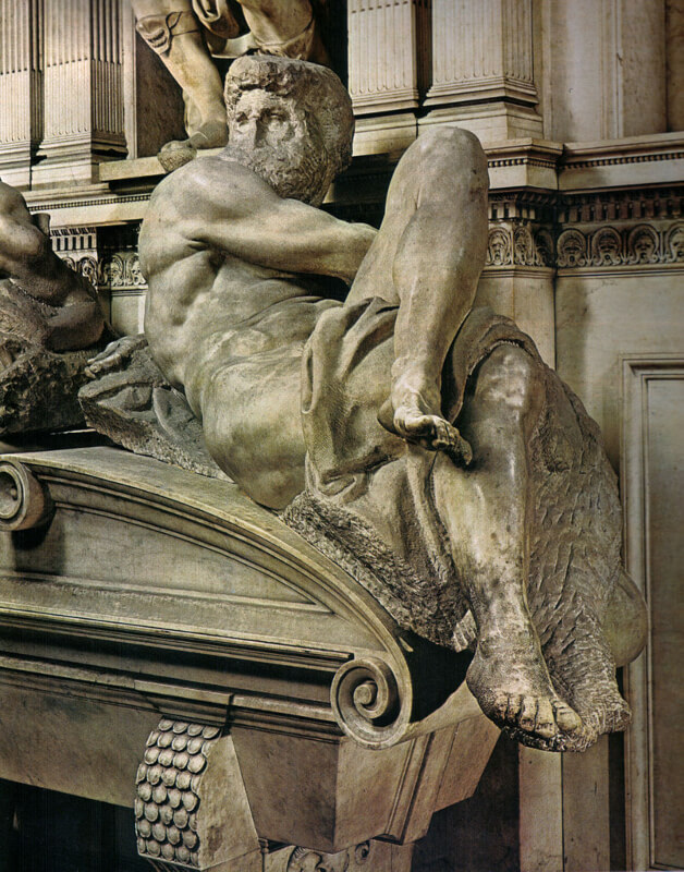 Día de Miguel Ángel de la Tumba de los Medici de Florencia