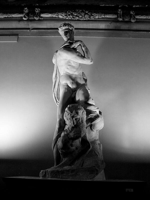 Genio de la Victoria Miguel Ángel Palazzo Signoria