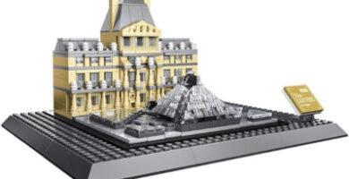 Maqueta WANGE Museo del Louvre