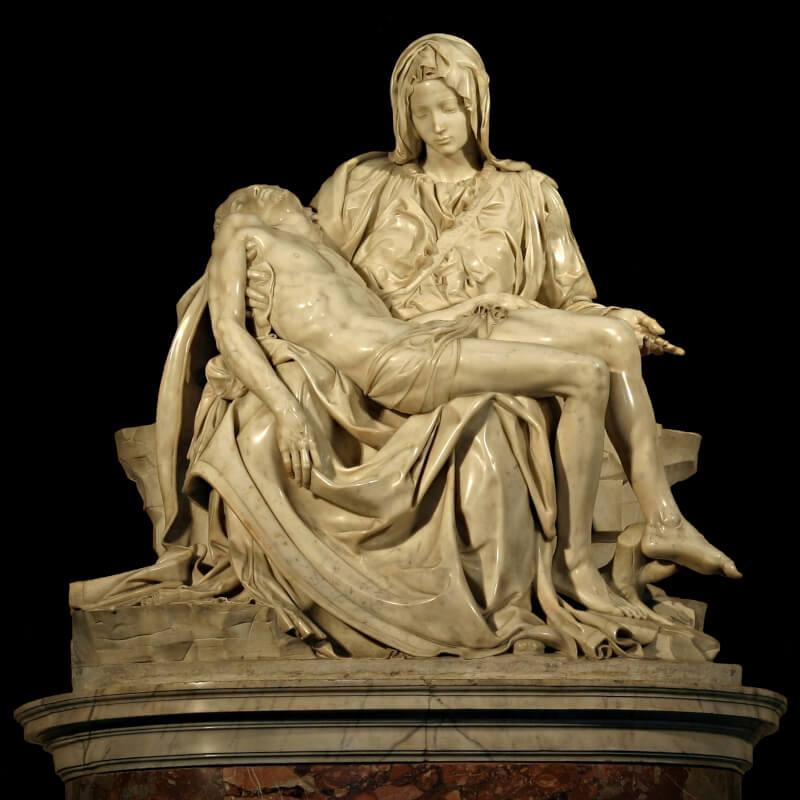 Piedad del Vaticano escultura de Michelangelo