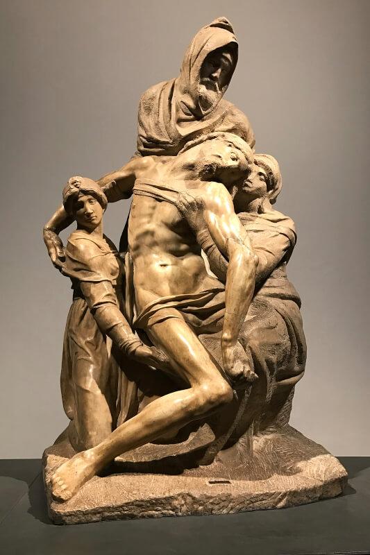 Pieta Bandini del Duomo Florencia Miguel Ángel