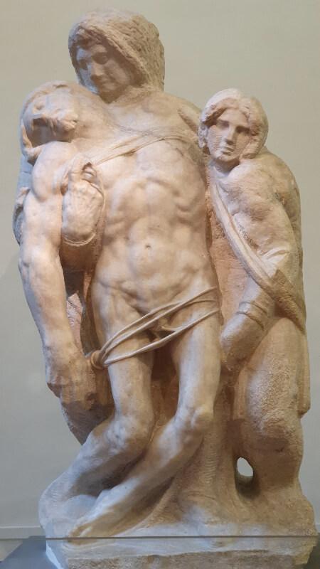 Pieta Pallestrina Accademia Florencia Miguel Ángel