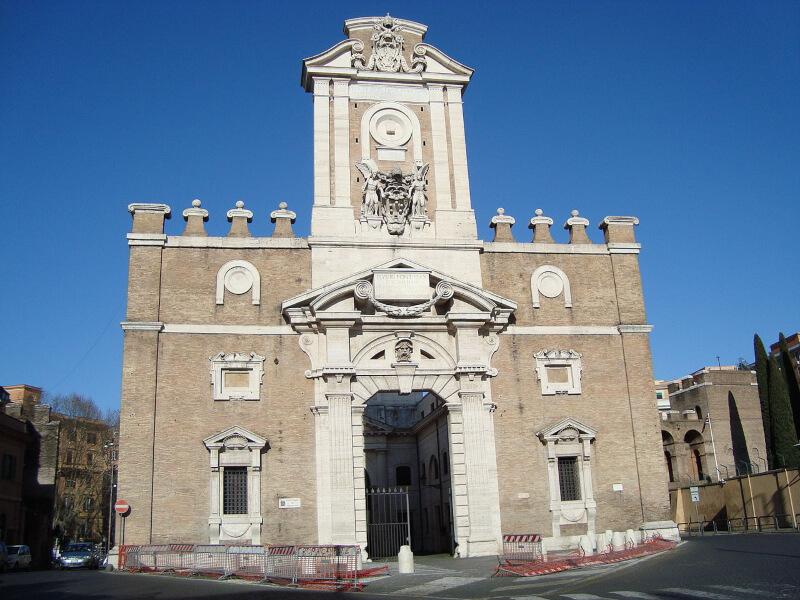 Porta Pia de Roma Michelangelo Buonarroti