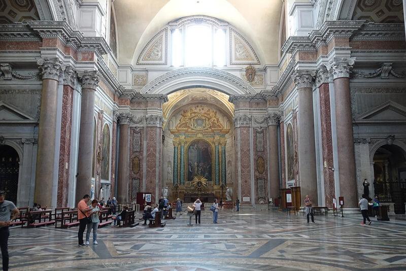 Santa Maria degli Angeli Michelangelo Buonarroti