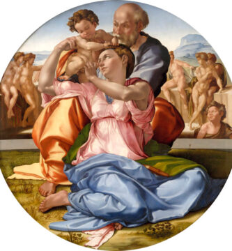 Tondo Doni de Miguel Ángel Uffizi