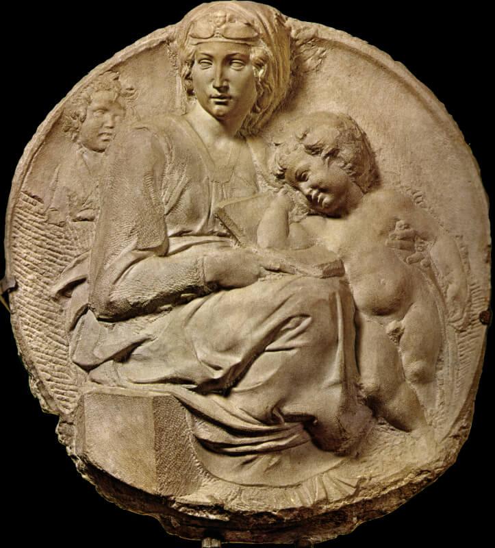 Tondo Pitti Miguel Ángel Museo Bargello Florencia