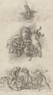 Caída de Faeton Michelangelo Windsor