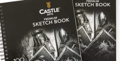 Castle Art Supplies cuadernos para bocetos