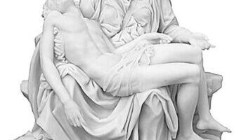 Copia Pietà Michelangelo Veronese Poliresina