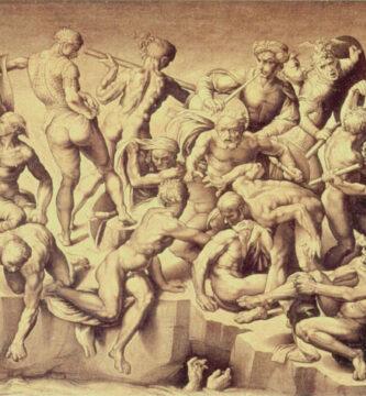 Batalla de Cascina MIchelangelo