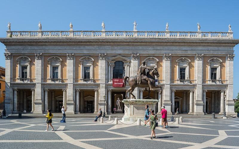Palazzo dei Conservatori Capitolio Roma Michelangelo