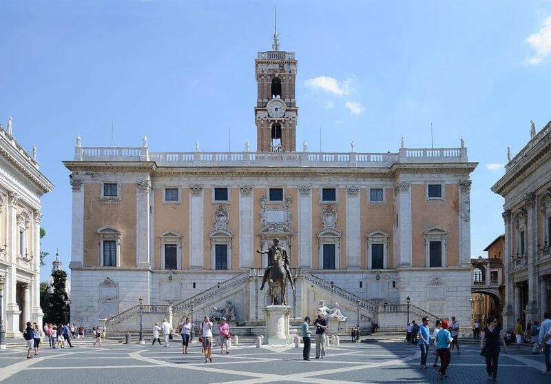 Palazzo del Senato Roma Michelangelo