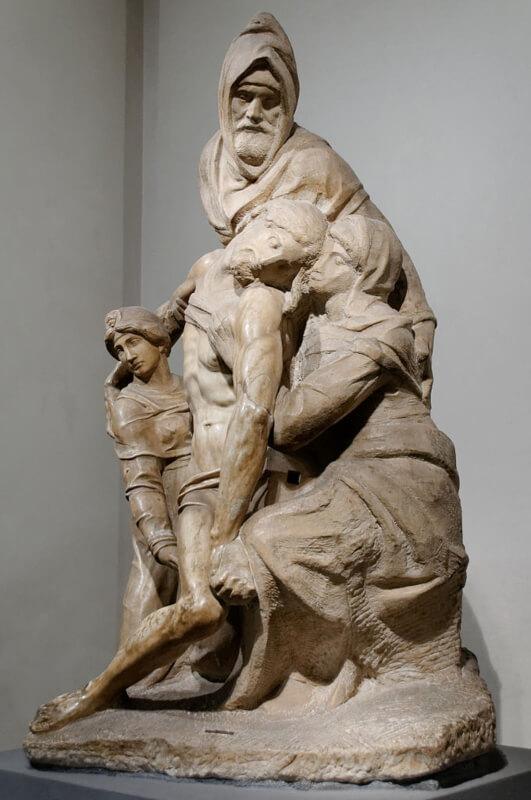 Pieta Bandini Michelangelo Museo dell'Opera del Duomo