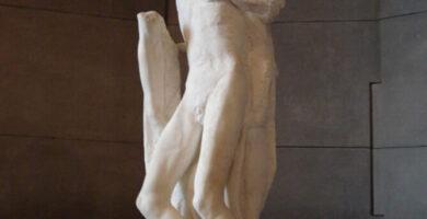 Pieta Rondanini Michelangelo Escultura