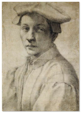 Retrato de Andrea Quaratesi Michelangelo British Museum