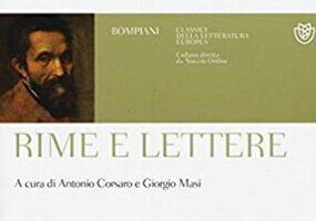 Rime e Lettere Michelangelo Buonarroti Editoriale Pompiani
