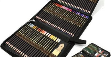 Set de 96 piezas con lápices de dibujo de ZZONEART