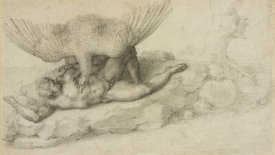 Ticio Dibujo Michelangelo Royal Library Windsor