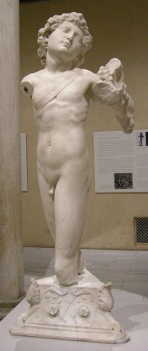 Cupido de Miguel Ángel atribuido Metropolitan Nueva York