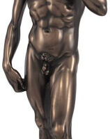 David en bronce escultura de Michelangelo reproducción de Things2Die4