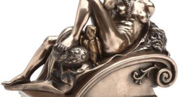 Pacific Estatua Sujetalibros Inspirado en Miguel Ángel
