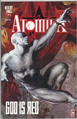 Atomika, dibujo de Simone Bianchi