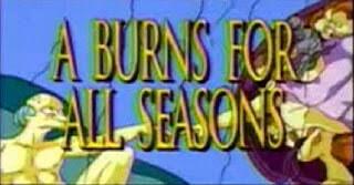 Señor Burns Los Simpson y la Creación de Adán