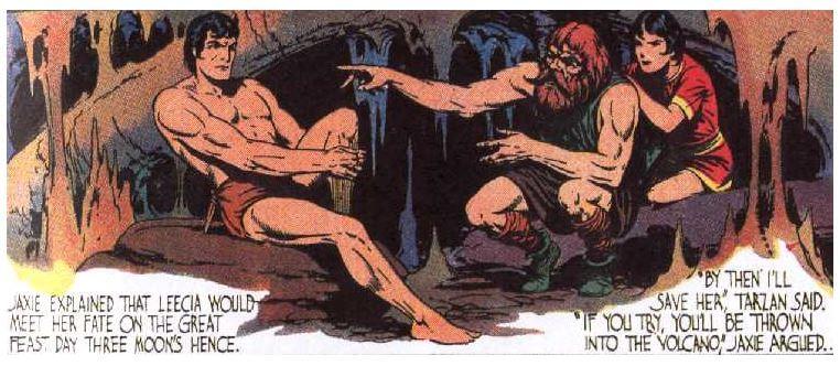 Comic Tarzán Burne Hogarth