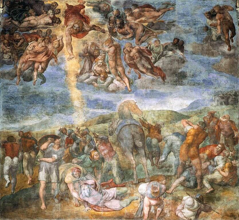 Conversión de San Pablo de Michelangelo