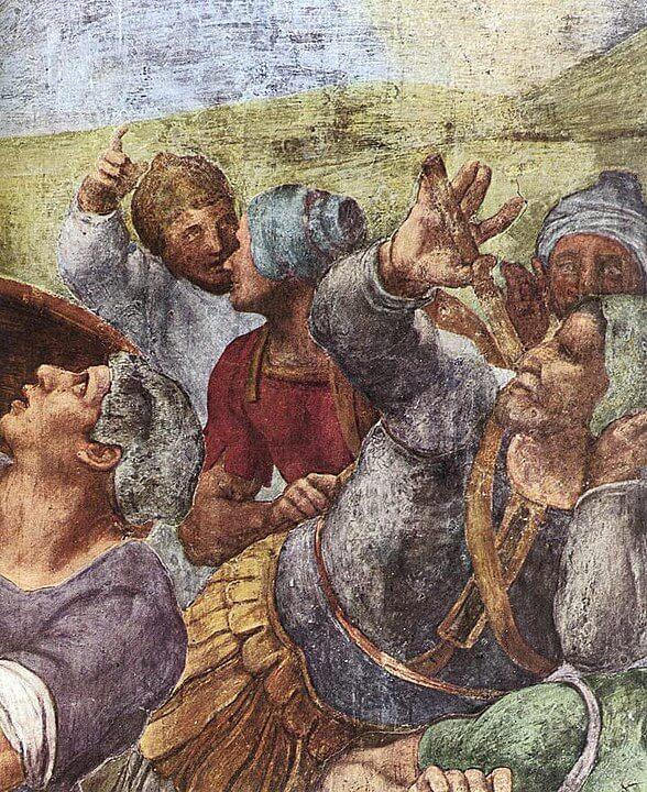 Conversión de Saulo MIchelangelo detalle