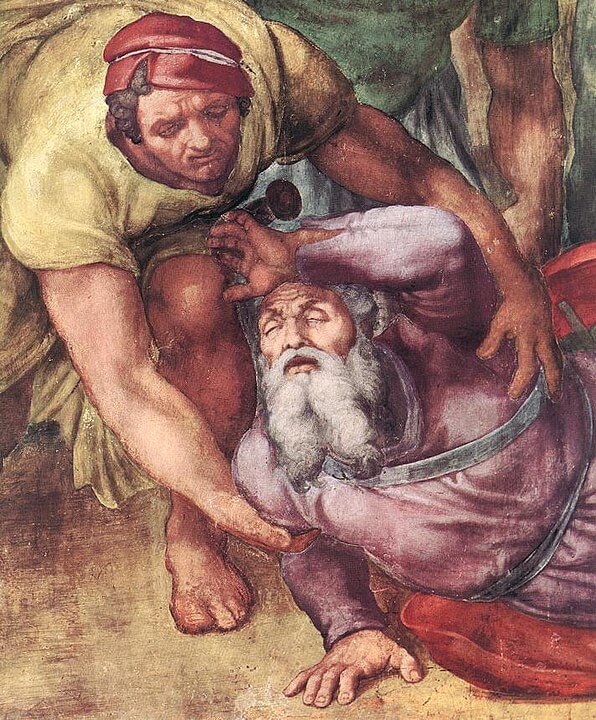 Conversión de San Pablo Michelangelo Saulo
