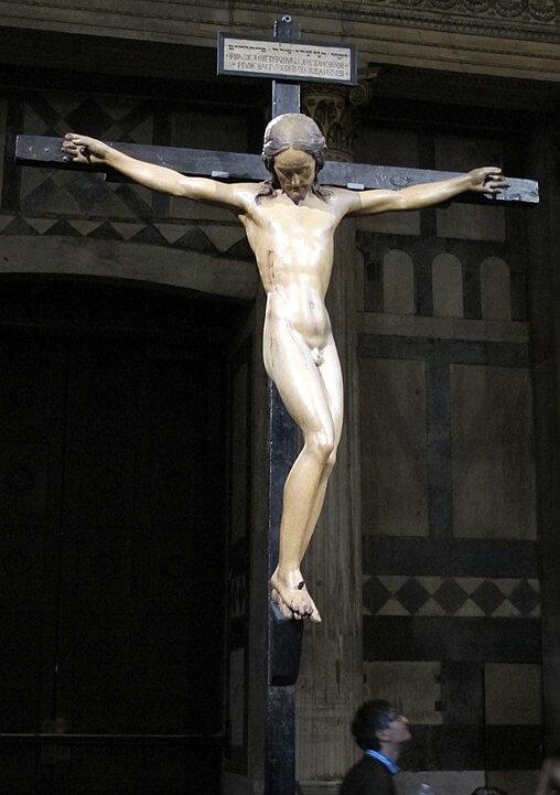 Crucifijo Miguel Ángel Santo Spirito Florencia