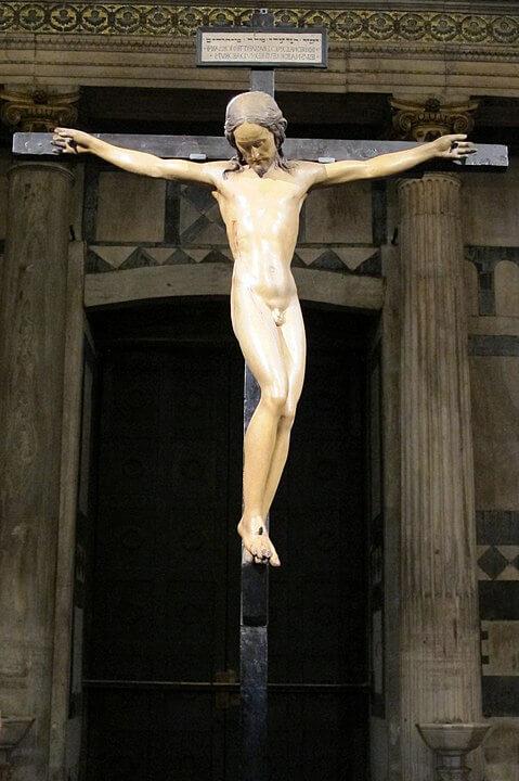 Crucifijo del Santo Spirito de Florencia de Miguel Ángel