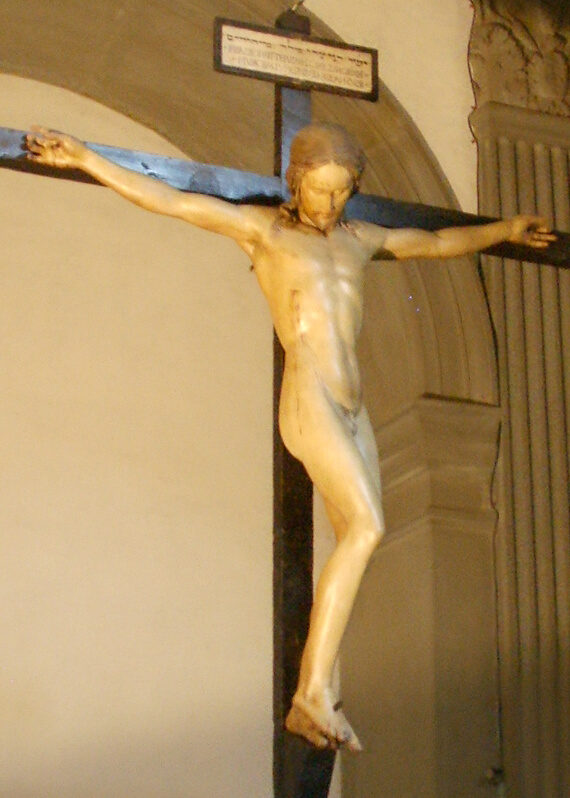 Crucifijo del Santo Spirito de Florencia de Michelangelo