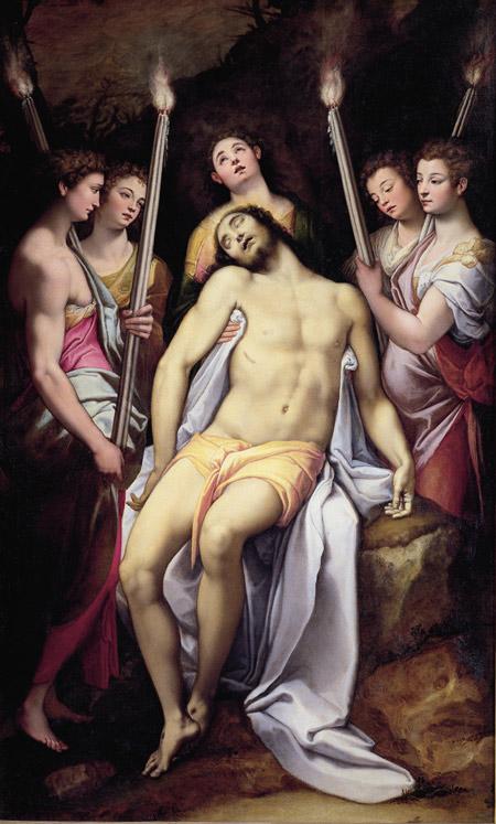 Pietà degli Angeli de Federico Zuccari Galleria Borghese