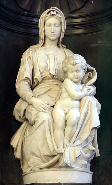 Madonna de Brujas de Miguel Ángel