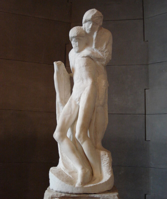 Piedad Rondanini Castello Sforzesco Michelangelo