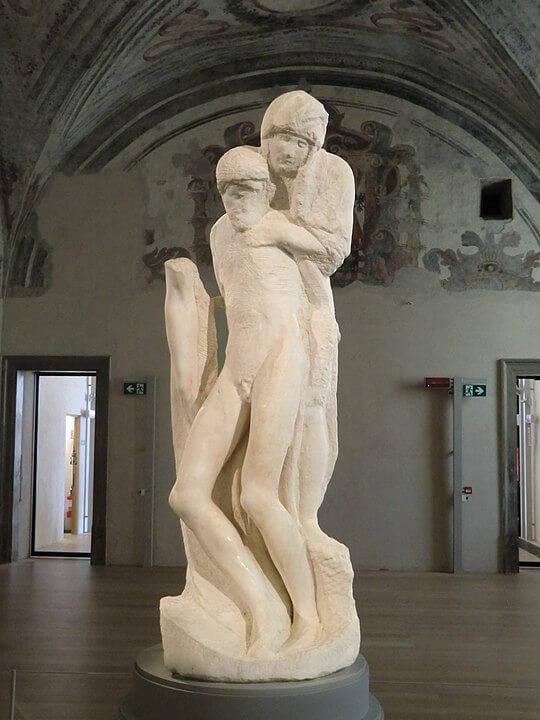 Piedad Rondanini Michelangelo Buonarroti