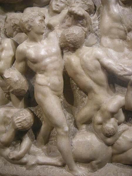 Centauromachia Michelangelo Buonarroti scultura
