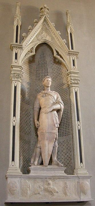 Donatello San Jorge escultura Renacimiento Florencia